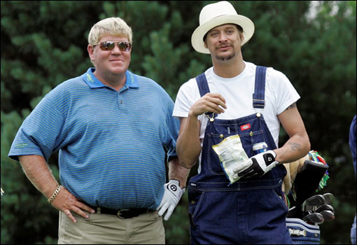 John Daly with Kid Rock
